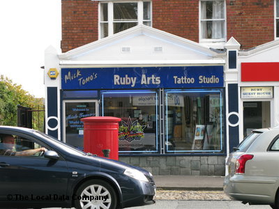 Mick Tomo's Ruby Arts Tattoo Studio. Tattooing & Piercing