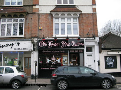 Old London Road Tattoos. Tattooing & Piercing. 58 Old London Road, Town