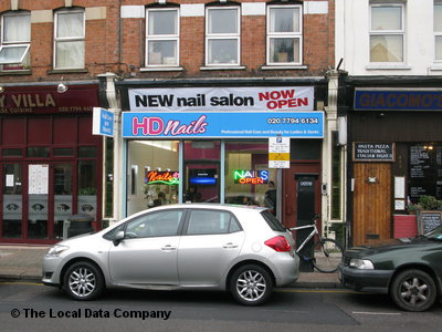 HD Nails. Nail Salons. 430 Finchley Road, Cricklewood, London, NW2 2HY