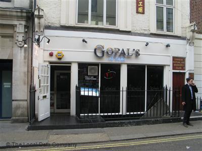 Indian Restaurant Near Tottenham Court Road