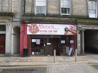 Venus Beauty. Beauty Salons. 222 High Street, Kirkcaldy, KY1 1JT
