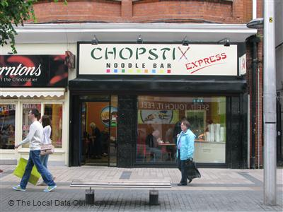 Chopstix noodle bar local data search for Food bar belfast