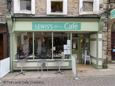 Lewis's @ 23 Cafe