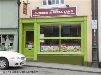Brecon Chicken Pizza Land Nearercom