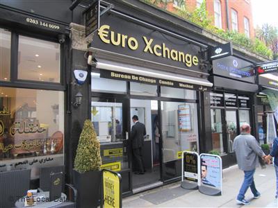 Euro xchange local data search