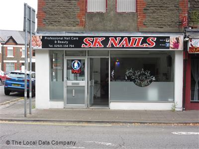 SK Nails. Nearer Image