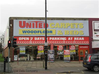 United Carpets Woodfloor & Beds. Nearer Image