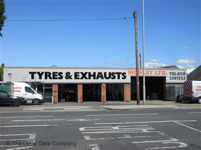 Tyres & Exhausts Morley - Leeds - sell tyres